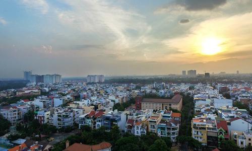 nhà phố Sài Gòn