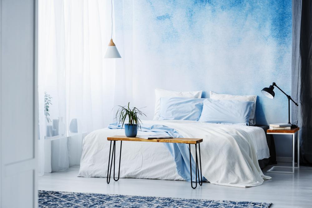 3 cách làm mới phòng ngủ với giấy dán tường
