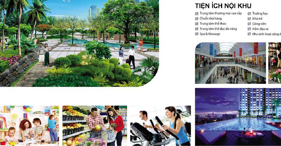 Tiện ích dự án Raemian City