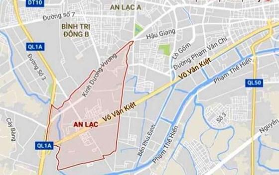quy hoạch quận Bình Tân