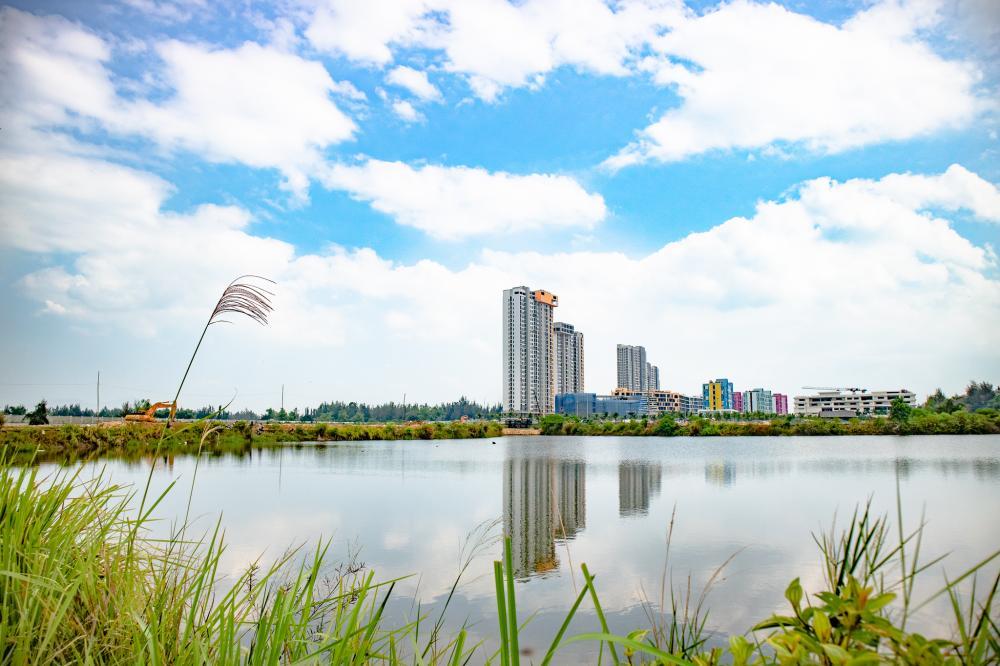 Những dự án bất động sản nổi bật bên dòng sông Cổ Cò