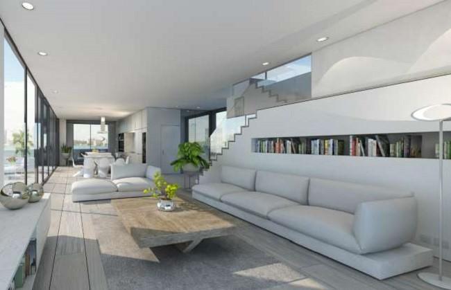 Ngôi nhà nổi hiện đại