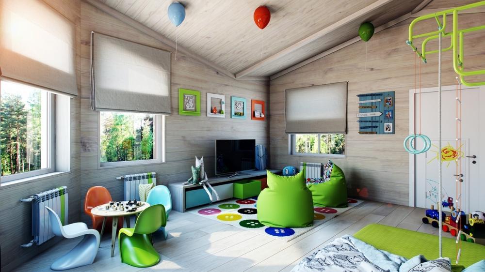 phòng ngủ sinh động cho trẻ em