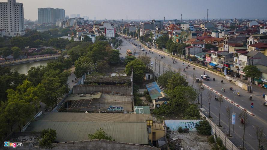 dự án treo trên đất vàng Hà Nội
