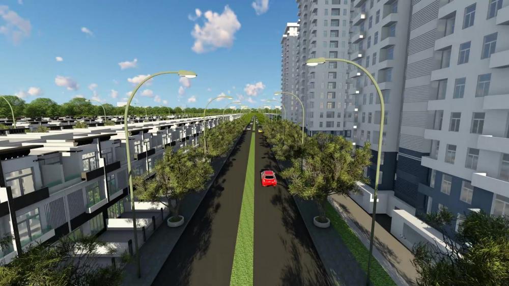 Phối cảnh dự án Island Riverside