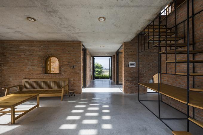 kiến trúc nhà ở kết hợp kinh doanh ấn tượng