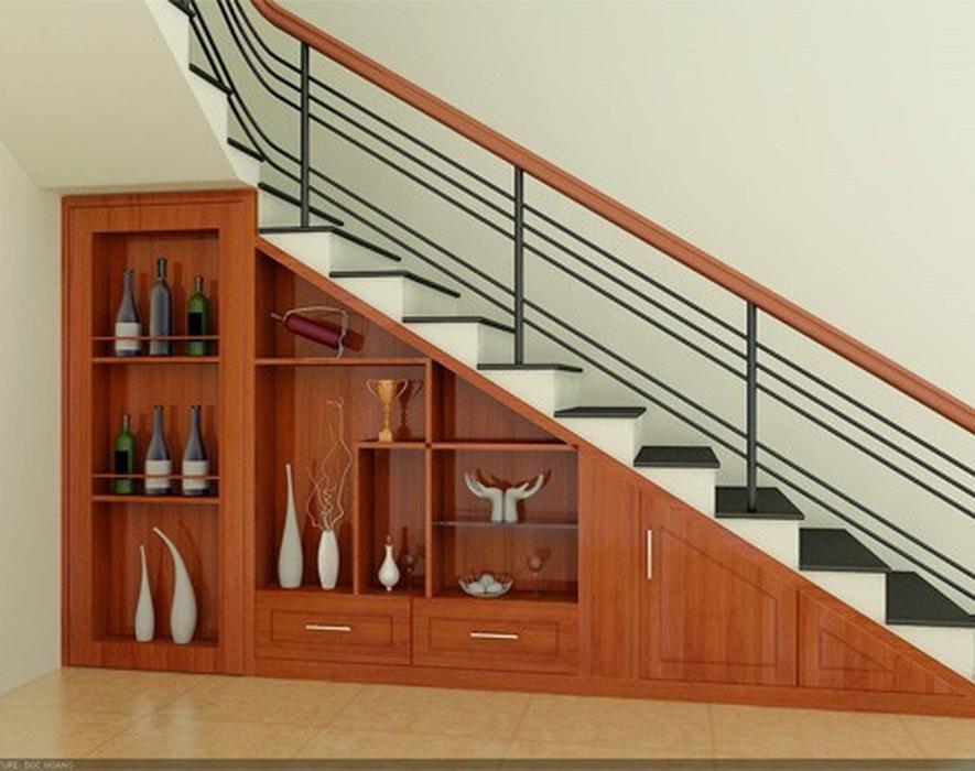 Một số lưu ý về phong thủy khi thiết kế, bố trí gầm cầu thang