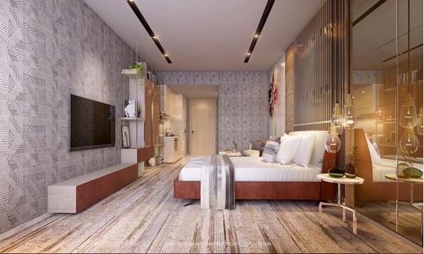 Thiết kế căn hộ trong dự án Signial