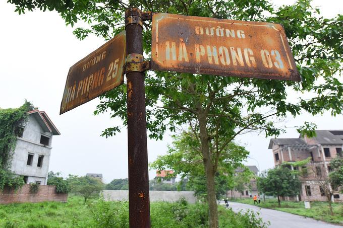 dự án bỏ hoang tại Mê Linh