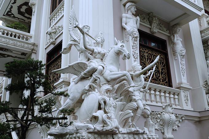 lâu đài của vị đại gia Nam Định
