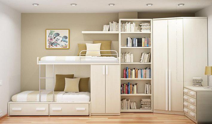 Mẫu giường tầng đơn giản
