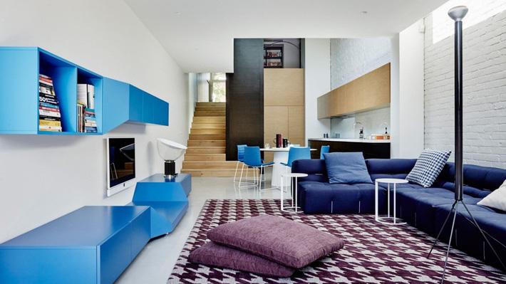 thiết kế nhà phố hiện đại, hợp phong thủy