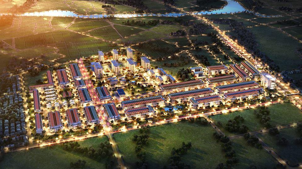 Phối cảnh dự án TNR Star Bắc Giang