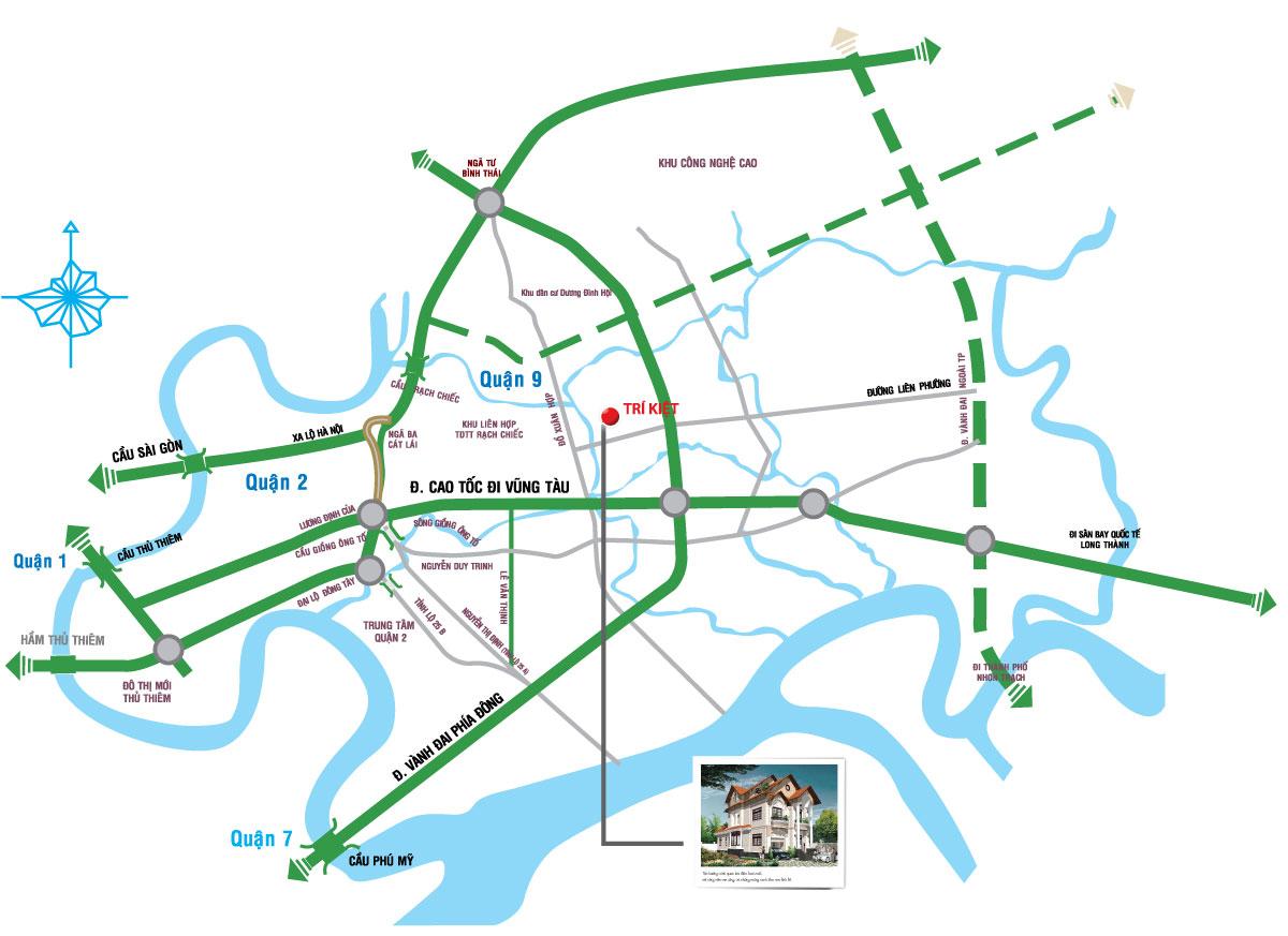thông tin dự án River Town Trí Kiệt