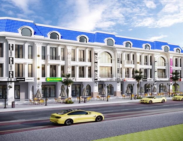 Phối cảnh dự án Diamond Palace