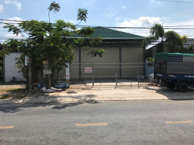 Cho thuê nhà kho mới xây dựng bến tre