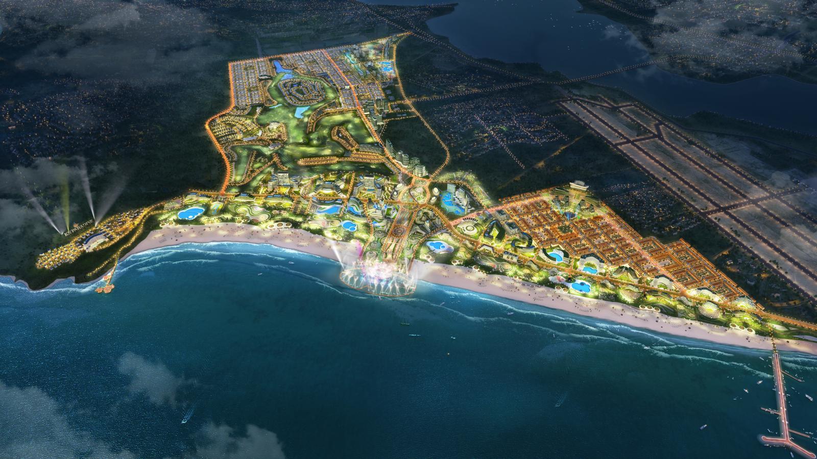 đô thị ven biển Cam Ranh