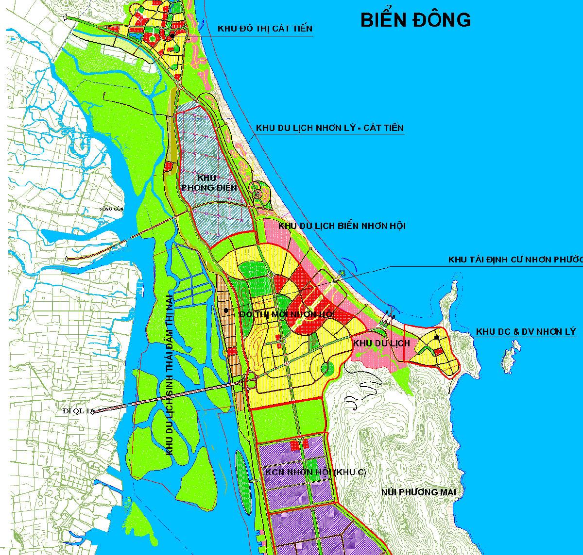 khu đô thị Nhơn Hội