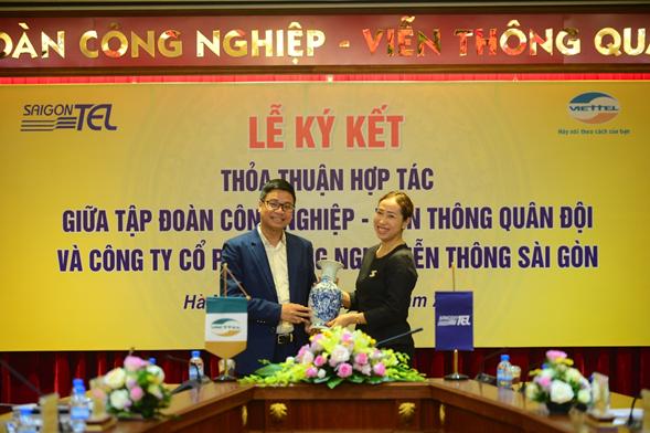 Viettel và Saigontel hợp tác xây dựng khu công nghiệp thông minh kiểu mẫu