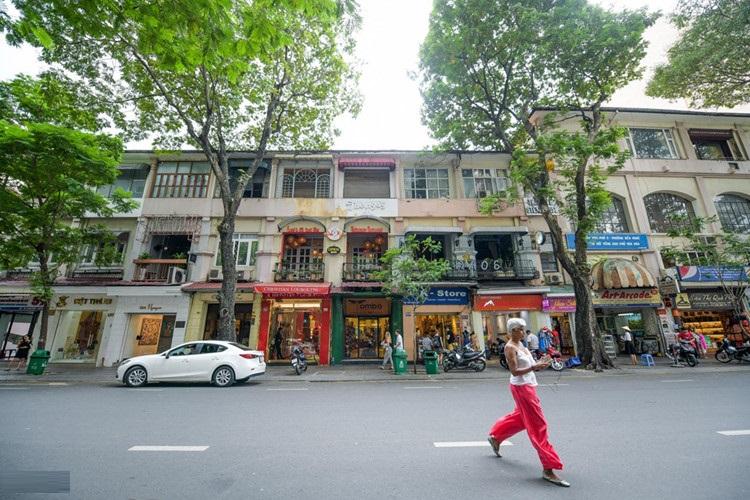 khu cư xá cũ trên đường Đồng Khởi