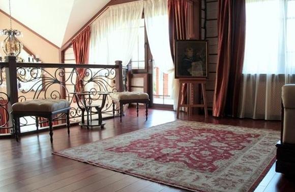 chọn thảm và rèm phòng khách