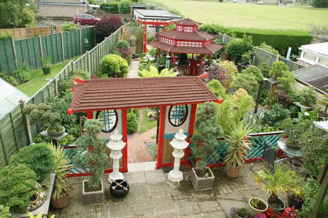 Khu vườn Nhật đẹp