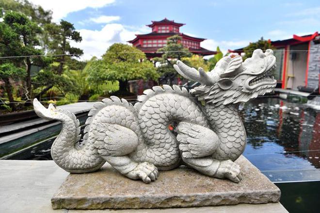 Khu vườn Nhật riêng biệt