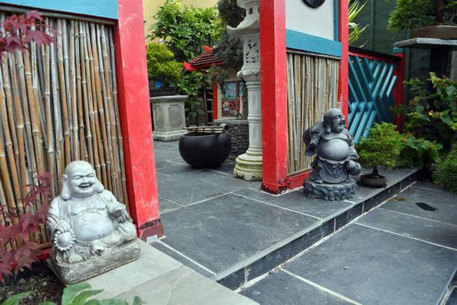 Khu vườn Nhật thu hút