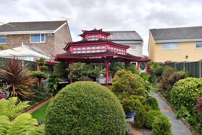 Khu vườn Nhật thú vị