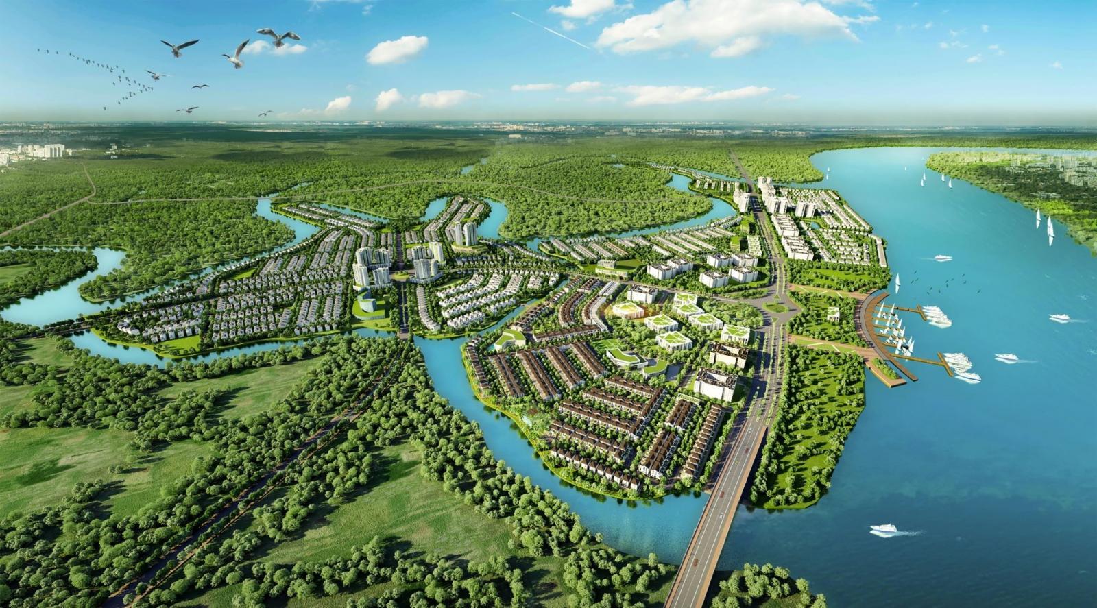 Khu đô thị sinh thái AquaCity
