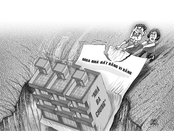 lừa bán nhà đất qua vi bằng
