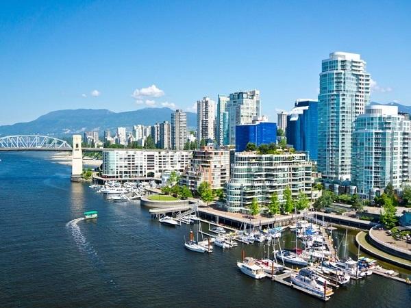 giá nhà thuê tại  Vancouver, Canada