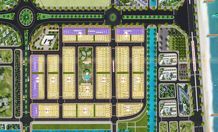 dự án Kim Long City khu F
