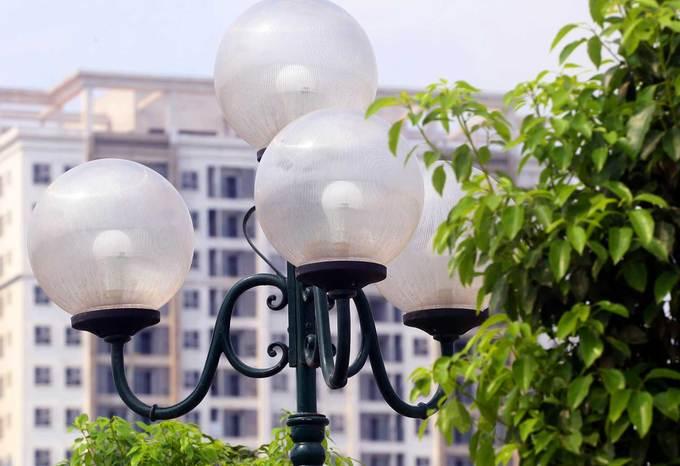 thống chiếu sáng bằng đèn led trên tuyến đường