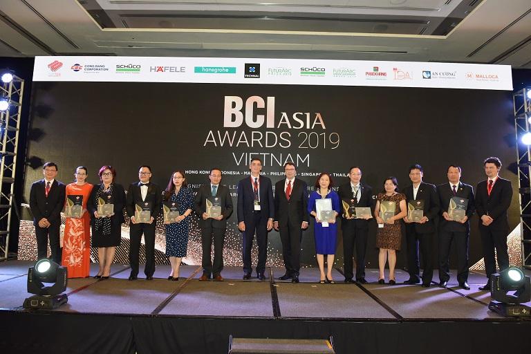 giải thưởng tại BCI Asia Award 2019