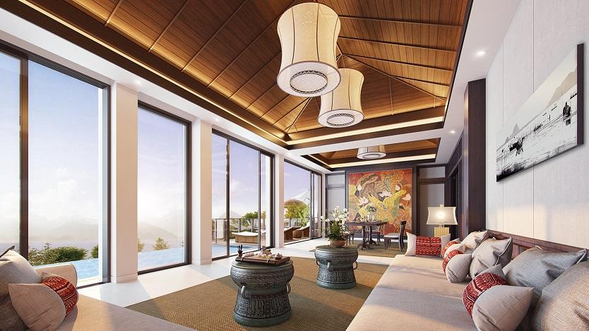 nội thất Banyan Tree Residences Lăng Cô