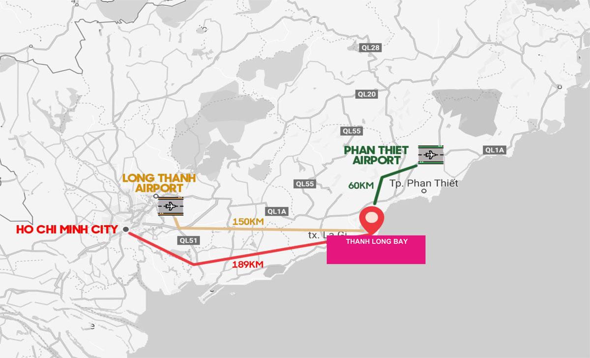 Vị trí Thanh Long Bay