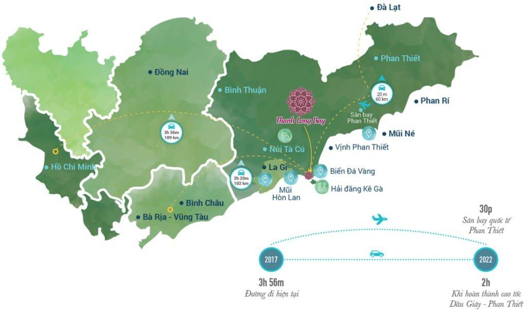 Tiện ích Thanh Long Bay