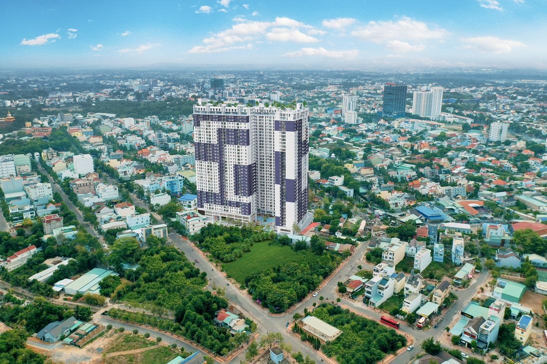 dự án căn hộ cao cấp C-Sky View