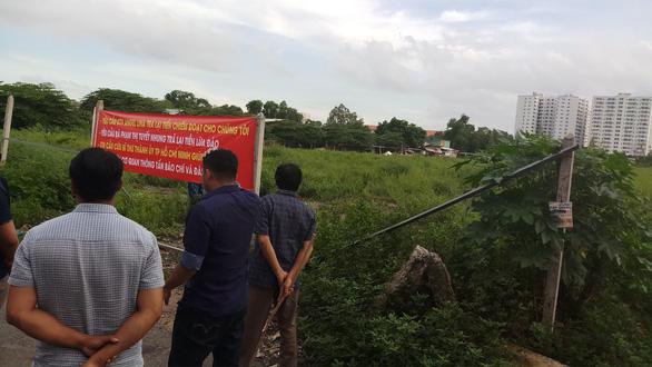 đất phân lô trái phép tại Bình Tân