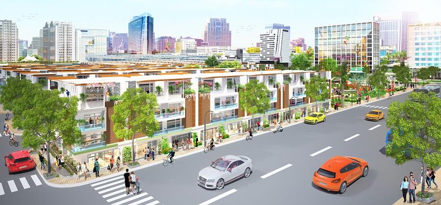 đường nội bộ dự án Eco Town Long Thành