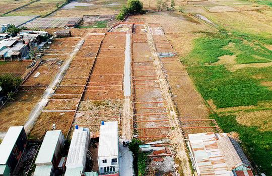 rao bán trái phép đất nông nghiệp