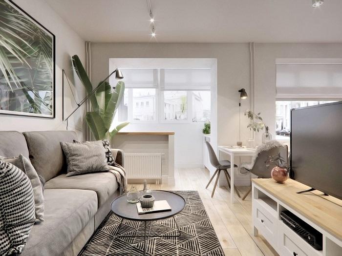 Ý tưởng thiết kế nội thất đẹp và tiện nghi cho căn hộ nhỏ dưới 40m2