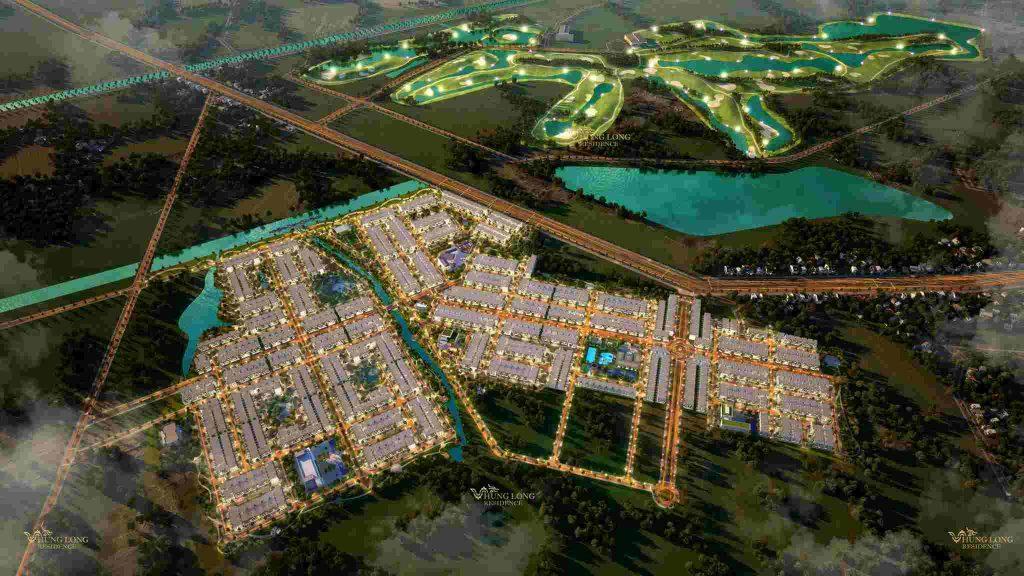 dự án Hưng Long Residence