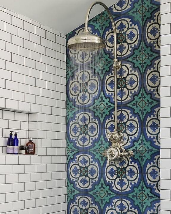 phòng tắm phong cách Victoria