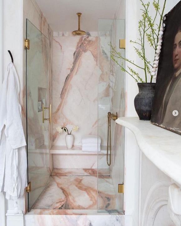phòng tắm phong cách nhẹ nhàng