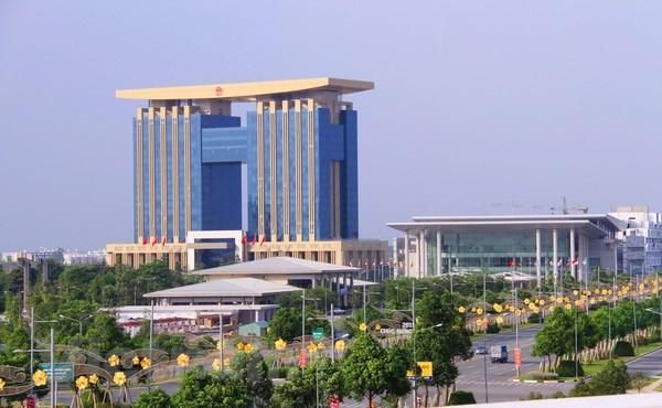 tòa nhà hành chính Bình Dương