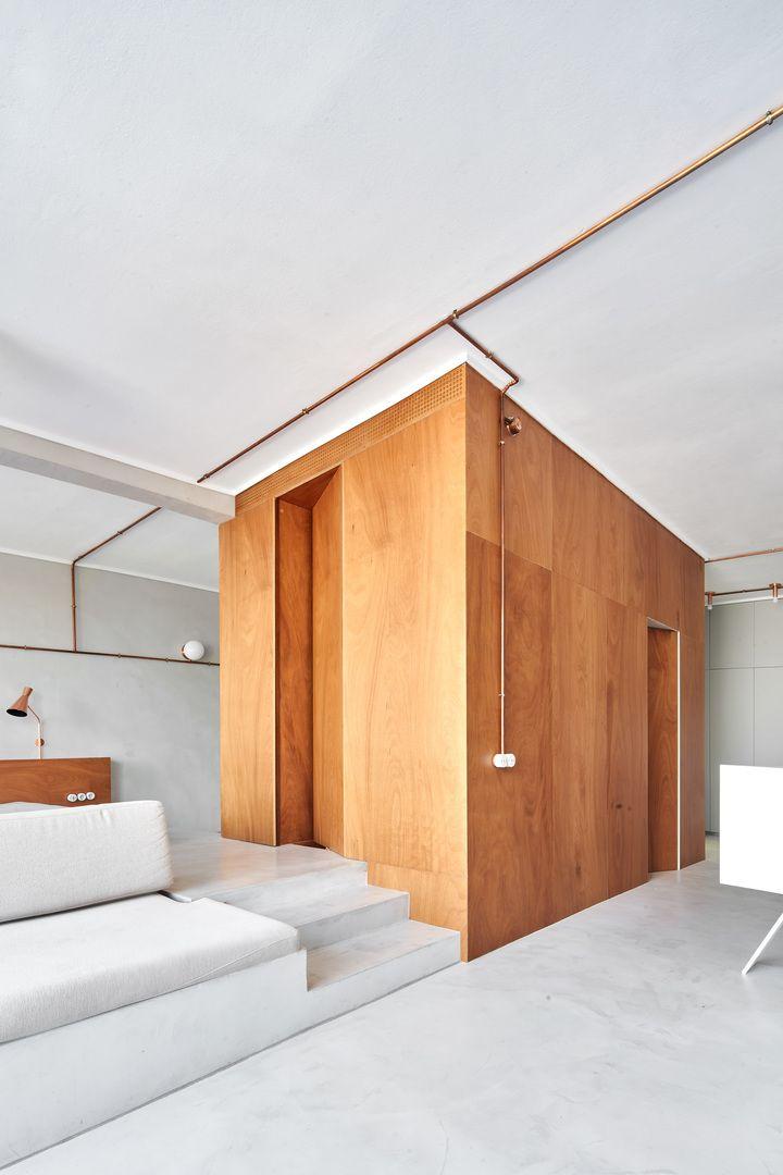 khối gỗ trung tâm