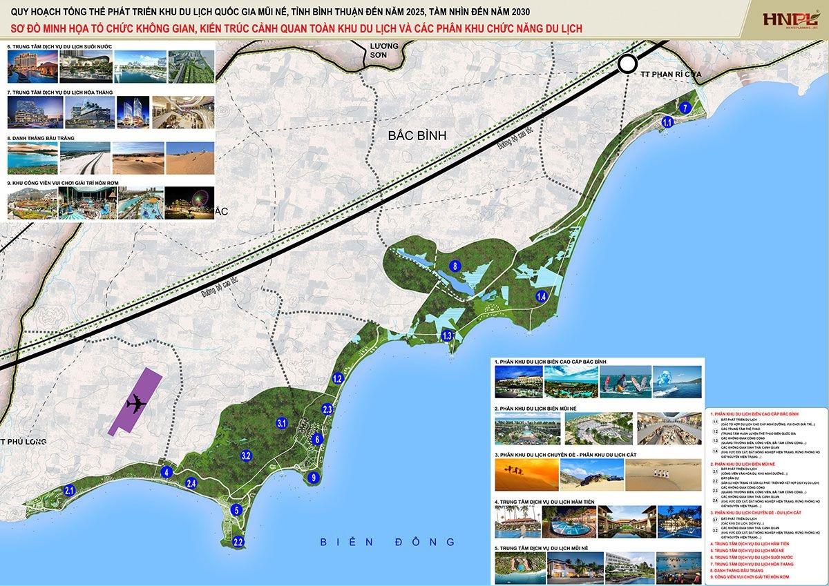 quy hoạch khu du lịch Mũi Né