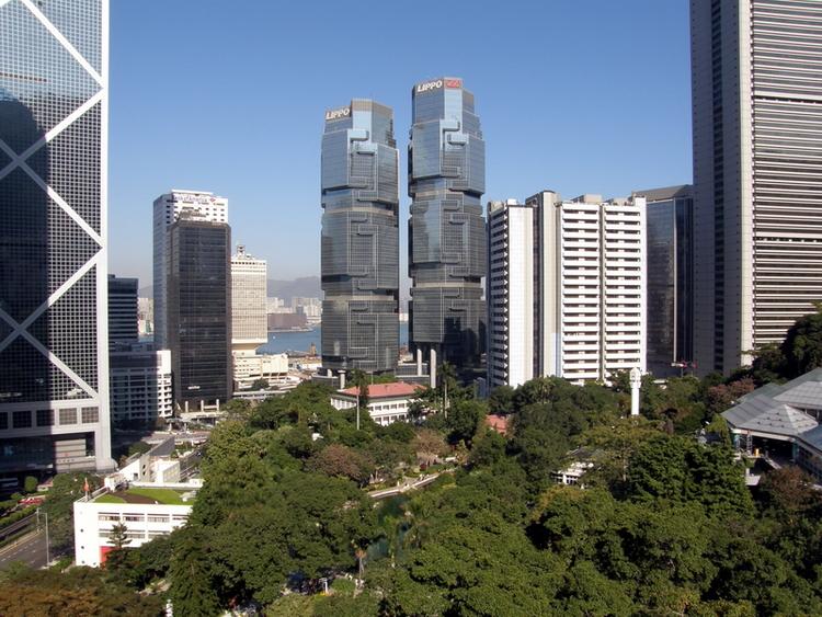 nhà cao tầng Hong Kong